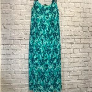 Lane Bryant Pleated Maxi Dress